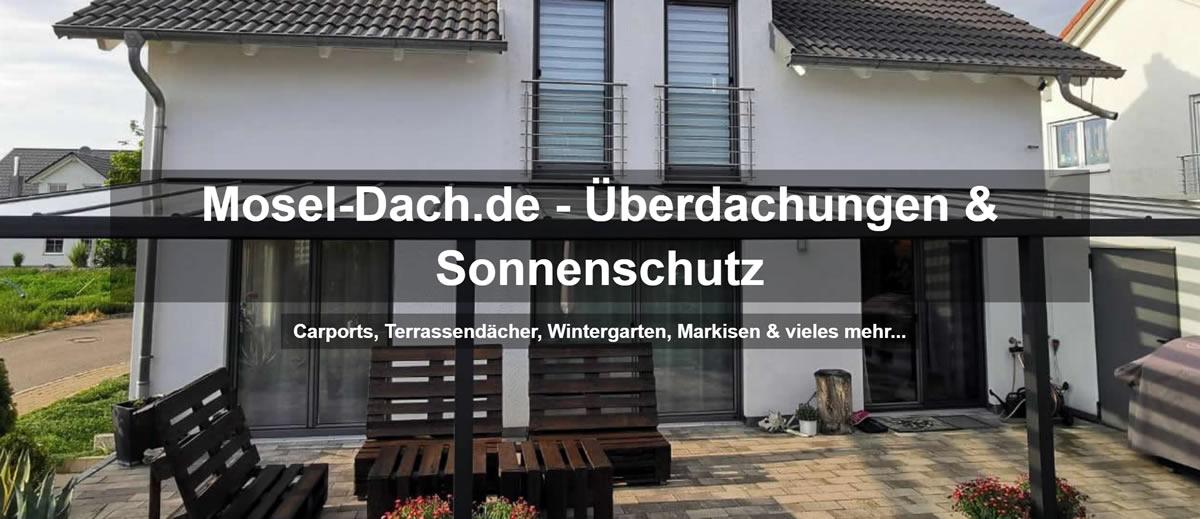 Terrassendach Aach, Wintergarten, Balkonüberdachung